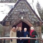 Elders in Invergarry (from left to right): Helen Allen, Ranald MacKenzie, Sonia Robbins, Alex Sandilands and Marigold MacLennan