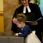 Holly's baptism