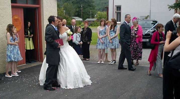 Getting married in Fort Augustus